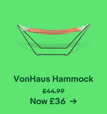 VonHaus Hammock