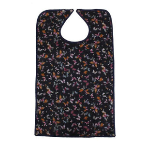 Adult-Mealtime-Protector-Bib-Waterproof-Pocket-Bibs-Disability-Aid-Apron
