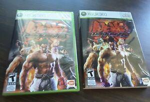 Xbox 360 Tekken 6 New Sealed With Slip Cover Ebay