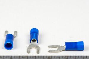 Cable-Lug-Crimp-Terminals-Utilux-Blue-16-14-AWG-1-5-2-5mm2-Conductor-M4-stud