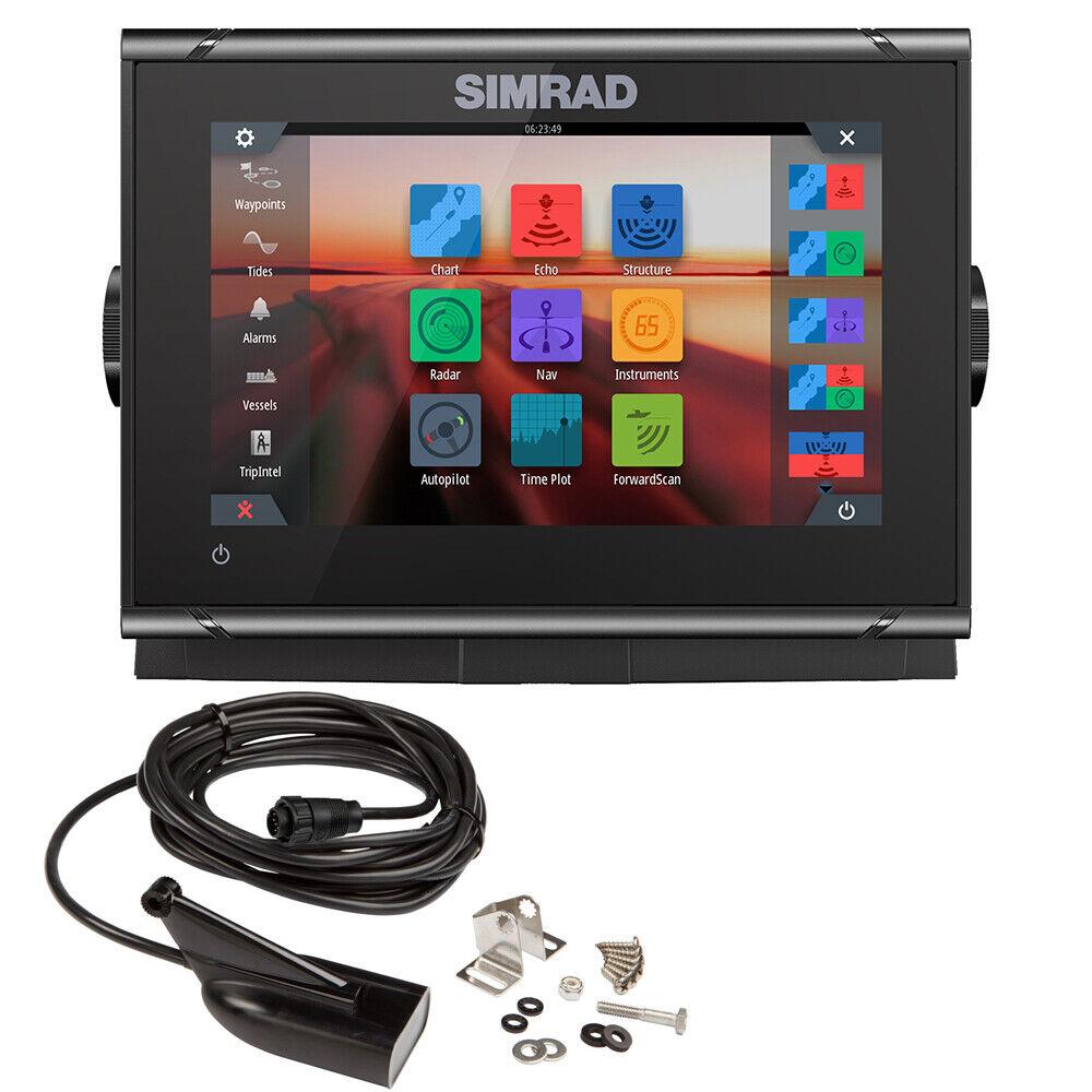 Simrad GO7 XSR chatplotter Fishfinder con transductor Skimmer de 000-14326-001 HDI