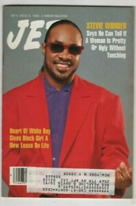 Jet Magazine Stevie Wonder July 8, 1991 062220nonr