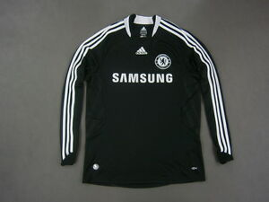 brand new 5e1ec 83ef8 Details about 2008-09 adidas Chelsea FC Away Shirt Long Sleeve SIZE M