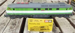 Brawa-0303-h0-Locomotive-034-Verbraucherschutz-034-BR-232-de-300-01-pour-3-directeur-AC-Digital-RARE