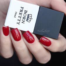 10ml Born Pretty Red Nail LED UV Polish Soak Off One-step UV Gel Polish DIY 1pc