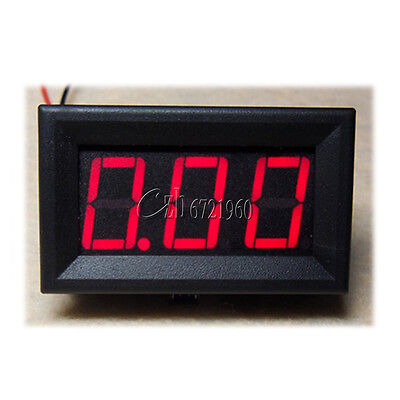 DC 0 To 20A Red LED Panel Meter Mini Digital Ammeter NEW