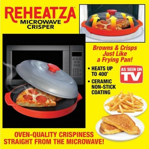 REHEATZA MICROWAVE CRISPER PAN