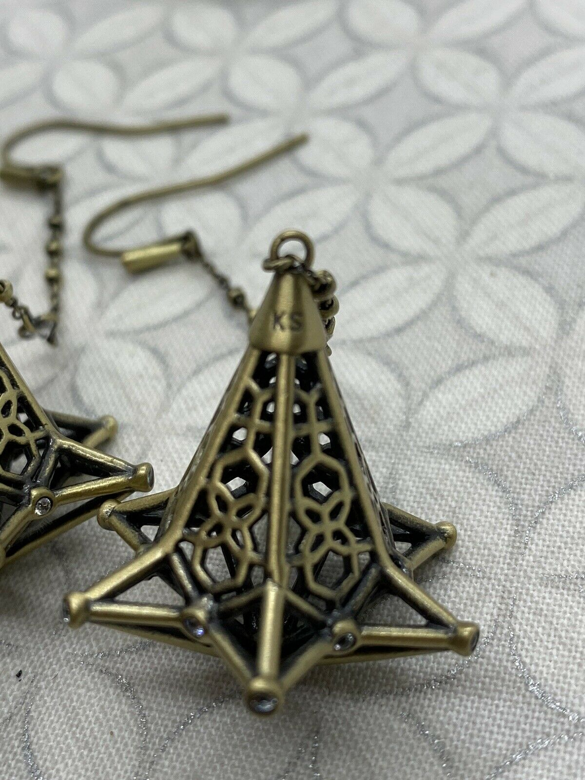 Kendra Scott Diana duster long dangle earrings an… - image 10