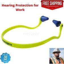 Hearing Protection Reusable Banded Ear Plugs Work Shooting Firing Range Noise