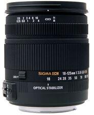 Sigma 18-125mm f3.8-5.6 DC OS HSM Lens For Nikon