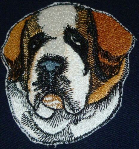 S Beautiful Dog Faces Embroidered Iron On Patches