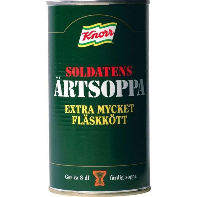 Knorr Soldatens Artsoppa - Gelbe Erbsensuppe 570G