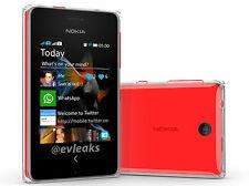 Genuine Nokia Asha 500 - Black/White/Yellow/Red - Dual Sim - Free Sim - Unlocked