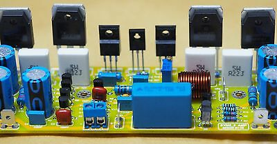 150W Class AB power amplifier assembled based on Symasym5-3 !