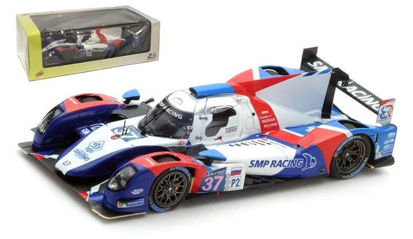 SPARK S4652 BR 01-Nissan  37 SMP Racing  Le Mans 2015-échelle 1 43