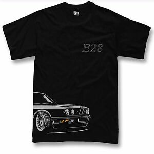 ganz nett Einzelhandelspreise Schlussverkauf Details about T-Shirt for BMW e28 fans m5 520 525 T Shirt + Long Sleeve-  show original title