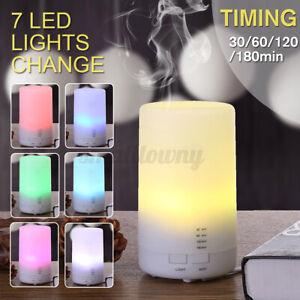5V USB Ultraschall Luftbefeuchter Aroma Diffuser 7 Farben LED-Licht