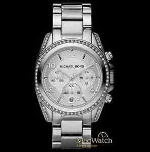 Michael-Kors-Damen-Uhr-MK5165-Blair-silberfarben-NEU-OVP