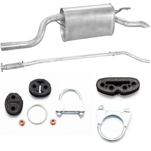 SCARICO COMPLETO SILENZIATORE TUBO CENTRALE FIAT PUNTO 2 II 1.2 Kit di montaggio