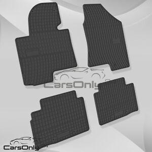neu gummi fu matten hyundai ix35 kia sportage iii. Black Bedroom Furniture Sets. Home Design Ideas