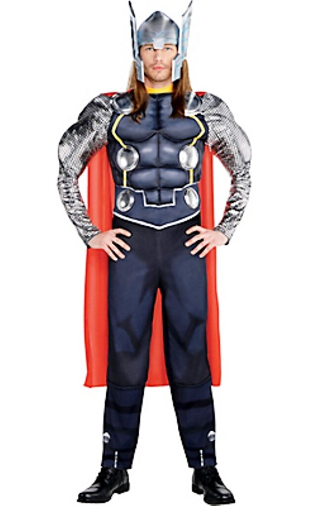 The Avengers Thor Marvel Comics Adult Muscle Costume