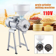 2200w Commercial Electric Mill Wet Dry Grinder Machine For Corn Grain Wheat 110v