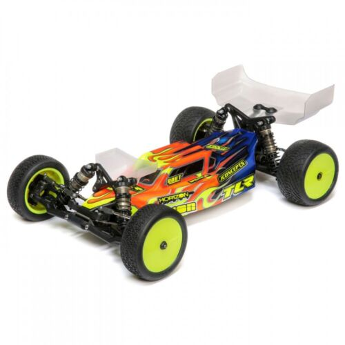 Team Losi Racing 22 5.0 1//10 2WD Spec Race Kit Dirt//Cly TLR03018