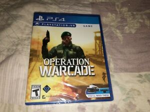 Operation-Warcade-Sony-PlayStation-4-PS4-VR-Game-NEW