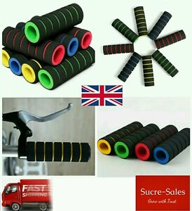 1-Pair-Bike-Bicycle-BMX-Cycle-Soft-Handle-Rubber-Bar-Grips-UK-Seller-Fast-Ship