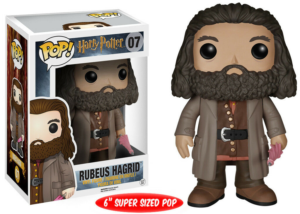 Harry Potter rebeus Hagrid 15.2cm POP Vinyl Figur Funko BRANDNEU