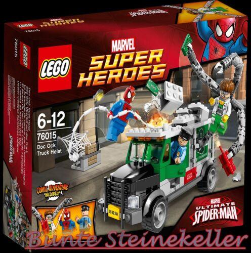 LEGO® SUPER HEROES 76015 Spiderman™ Doc Ock™ Überfall a.d.Truck 0.-€ Versand