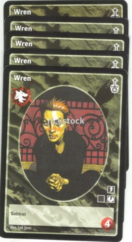 Wren x5 Gangrel antitribu SW VTES Jyhad