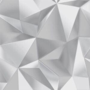 3D-Effect-Geometric-Apex-Wallpaper-Modern-Spectrum-Silver-Grey-Debona