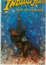 Dave Dorman Postcard: Indiana Jones - Fate of Atlantis # 2 cover (USA, 1992)