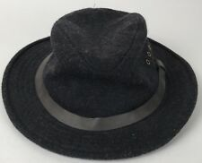 CC Filson 100% Wool Charcoal Gray Packer Hunting Fishing Hat Made In USA  Vintage 61ed9dbb7