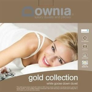 Downia-Gold-Collection-Goose-Down-Doona-Duvet-Quilt-QUEEN-Size