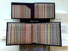 Paul Smith Signature Stripe Wallet With Internal Credit Card Holder - Black