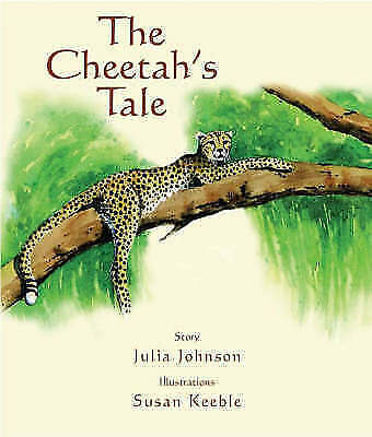 1 of 1 - The Cheetah's Tale, Johnson, Julia, Very Good Book