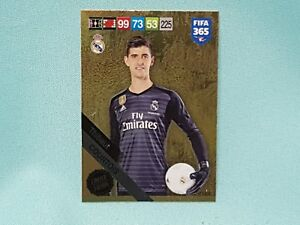Panini-Adrenalyn-XL-FIFA-365-2019-Thibaut-Courtois-Limited-Edition
