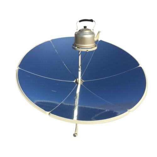 Premium Solar Cooker Camping Stove Grill Oven for Outdoor Cooking Food 1.5m
