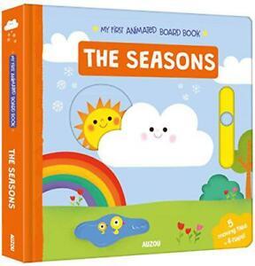 Seasons-My-First-Animado-Tablero-Libro-Por-Auzou-Nuevo-Libro-Libre