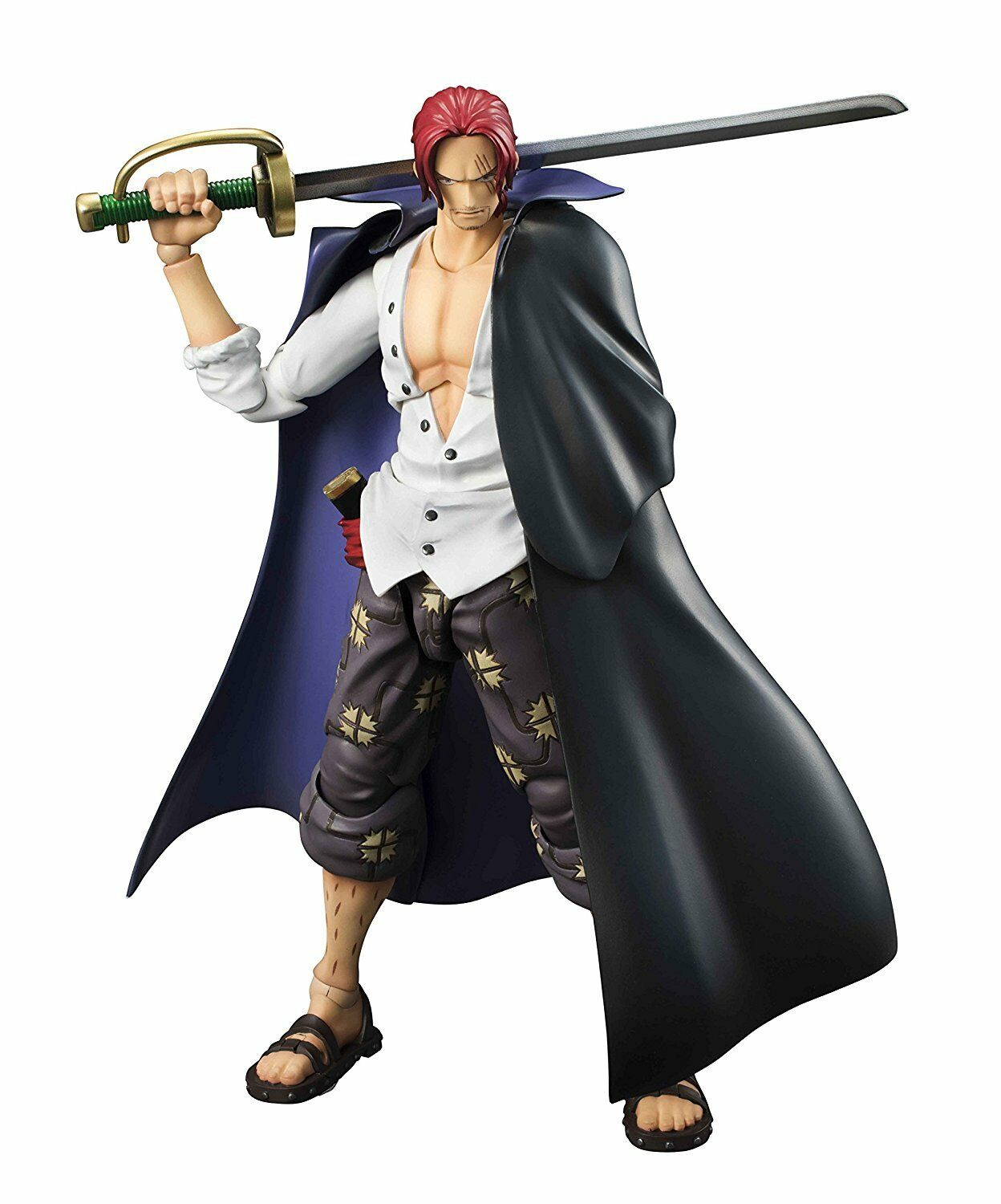 MegaHouse Variable Action Heroes ONE PIECE Red-Haired Shanks Japan version