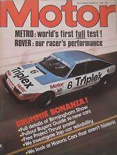 Motor magazine 18/10/1980 featuring Austin Mini Metro road test