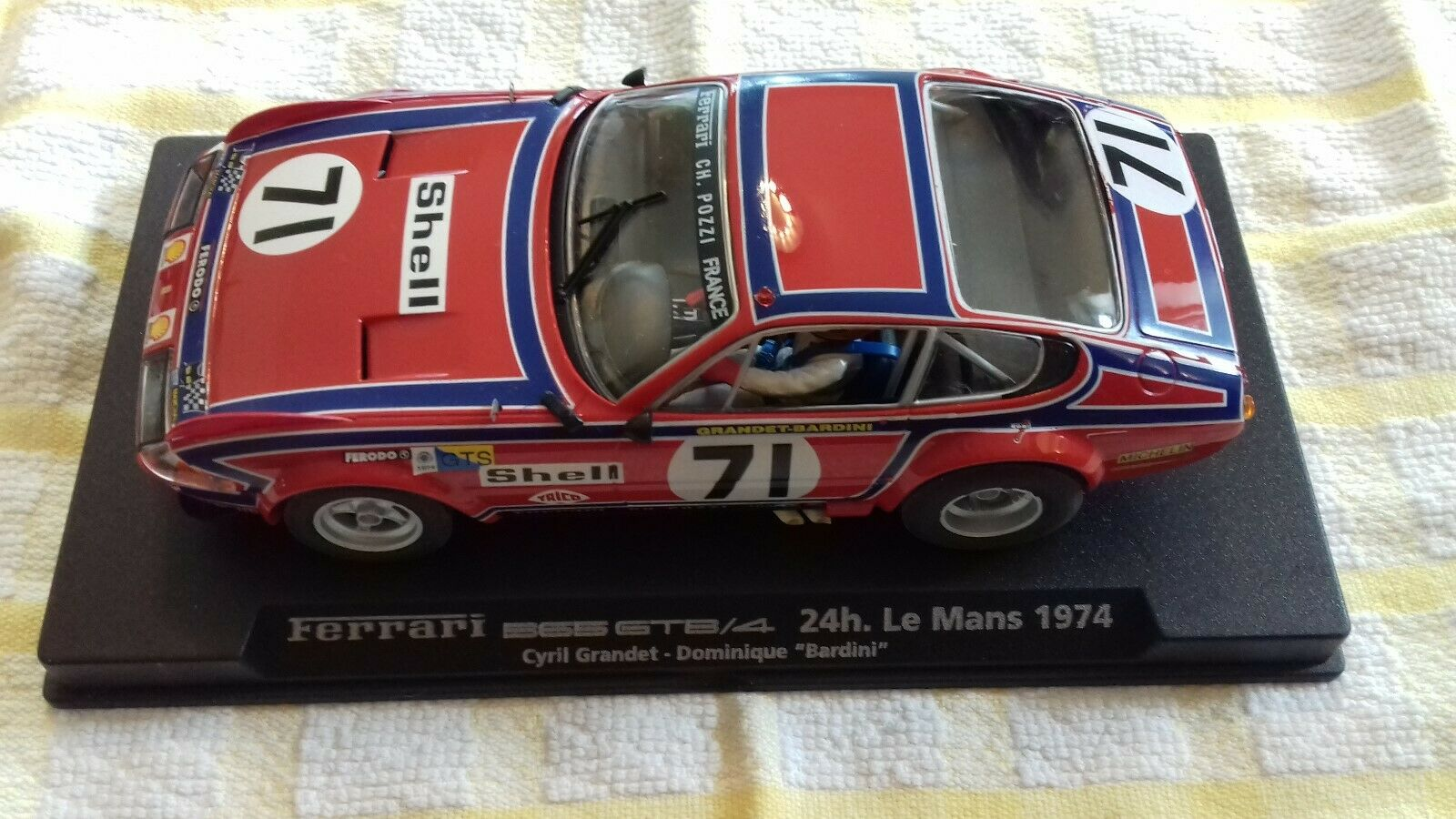 Fly 88077 Ferrari 365 GTB 4 Le Mans 1974