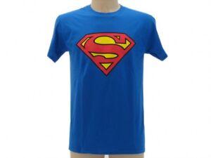 T-shirt-Originale-Superman-prodotto-ufficiale-maglia-maglietta-Uomo-Donna-Logo