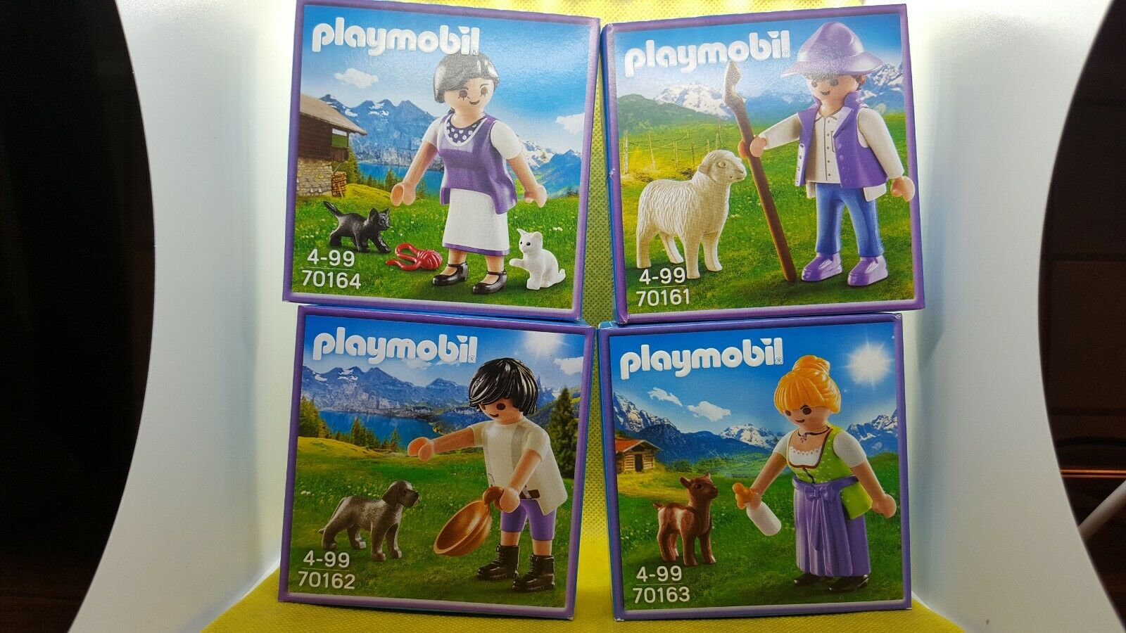 Playmobil Milka Promo Set Set Set 70162,70161,70163,70164 Neu OVP Top Exclusive Set dc90b2