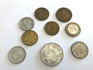 Set 9 Pieces Currencies Monaco REF64704