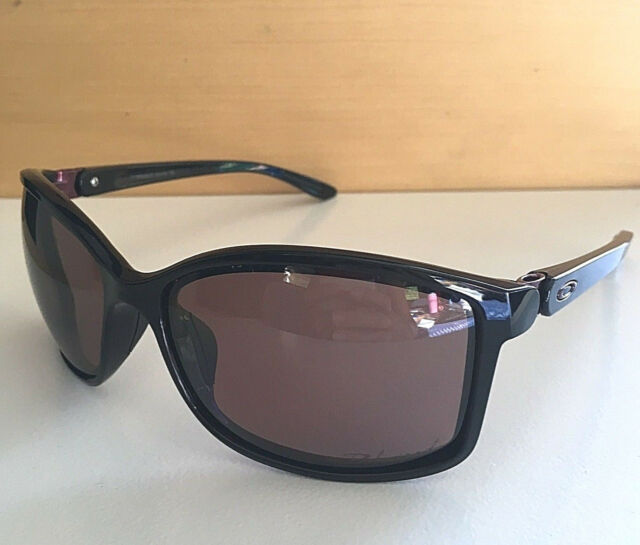 777053d176a New Oakley Polarized Step Up Sunglasses Polished Black Frame w  Pink