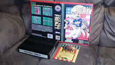 SNK (Original) Neo Geo MVS Football Frenzy Game with Marquee & Shock Box