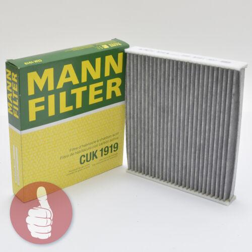 Original Homme-Filtre Intérieur Filtre Pollen Filtre à charbon actif CUK 1919 TOYOTA